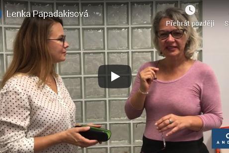 videoreference Optika Anděl Lenka Papadakisová