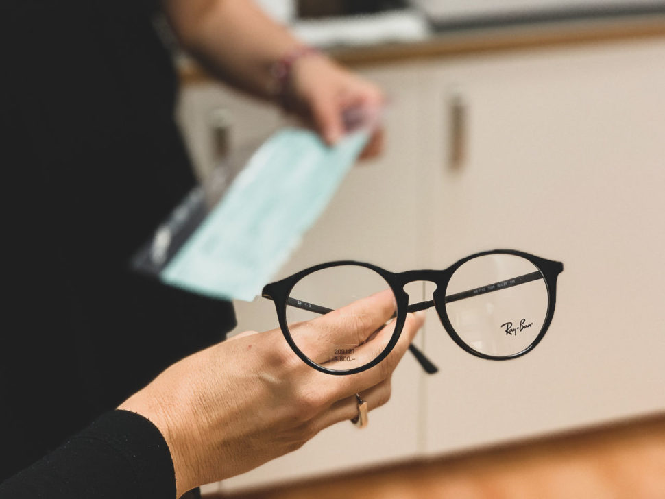 Dioptrické brýle černé Ray Ban