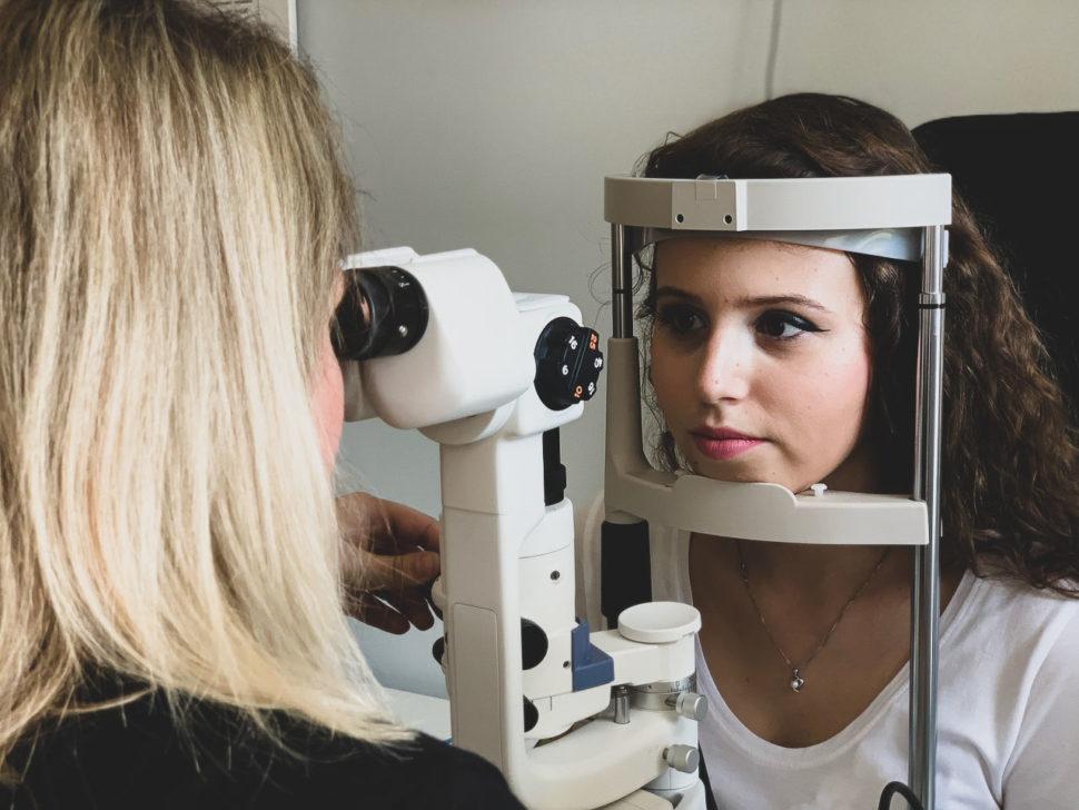 Měření zraku Optika Anděl Bc. Barbora Holubcová