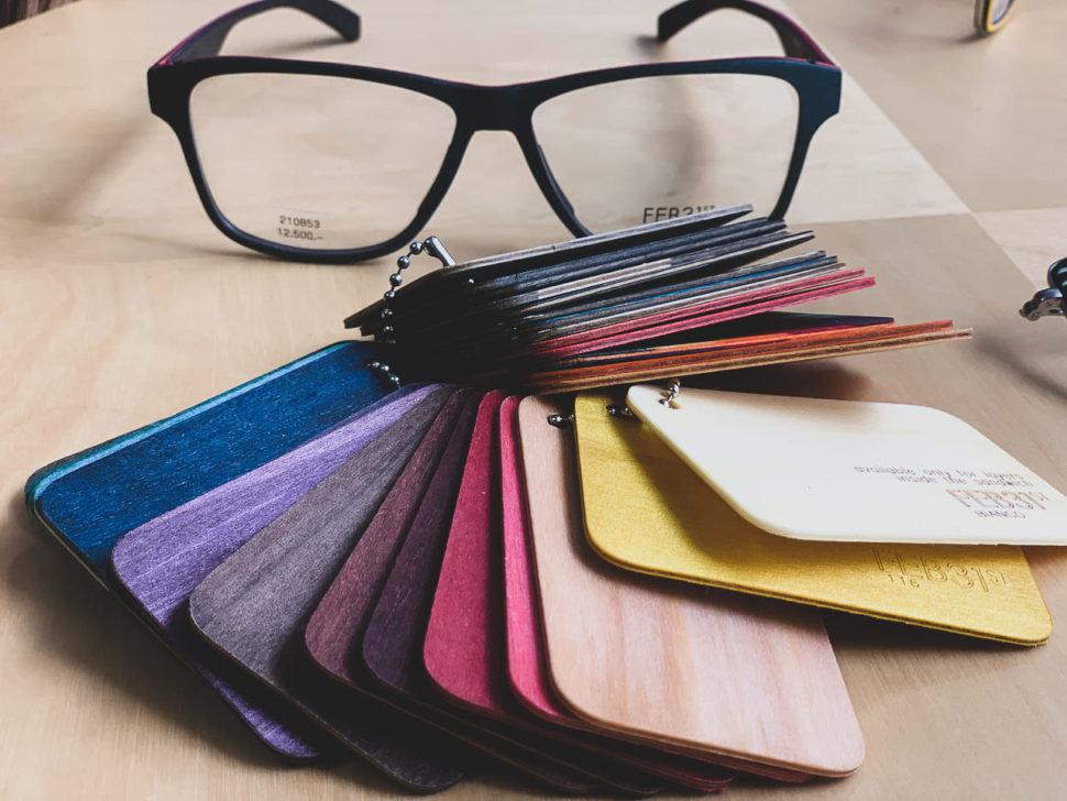 Designové brýle barevné FEB31ST
