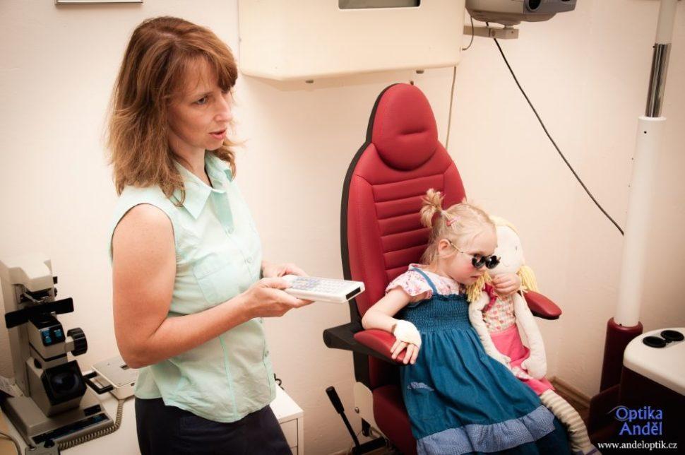 Děti oční vyšetření zraku