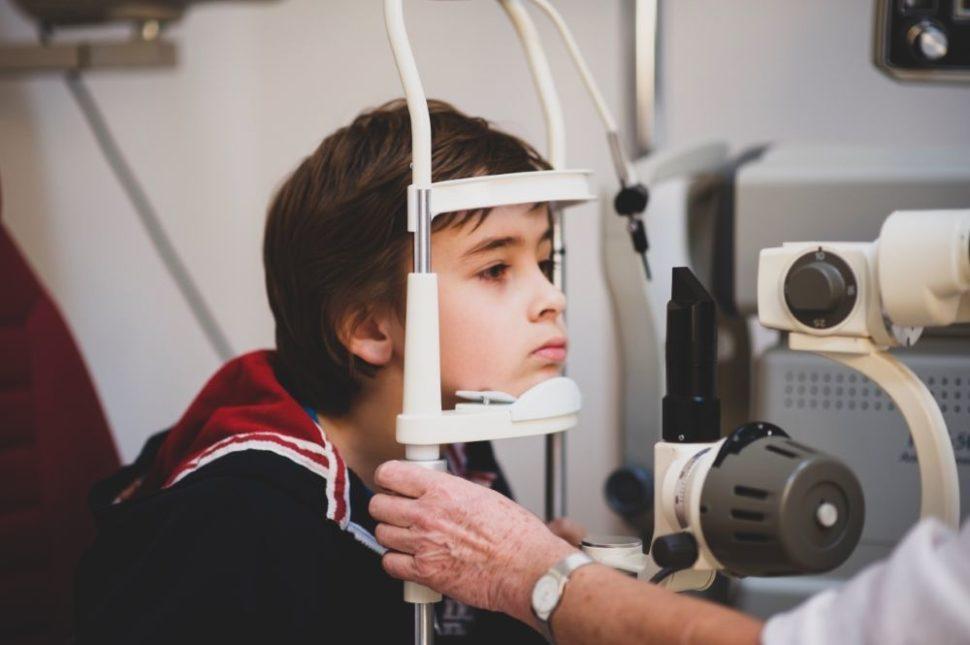 Děti oční vyšetření zraku MUDr. Svatava Háčiková