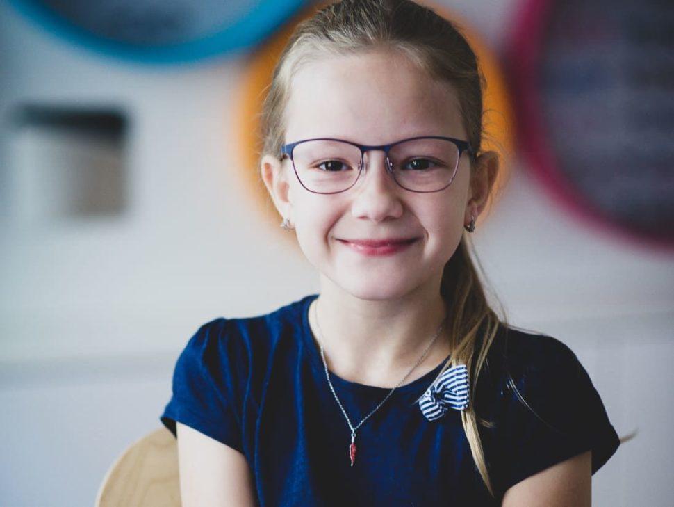 Dětské dioptrické brýle