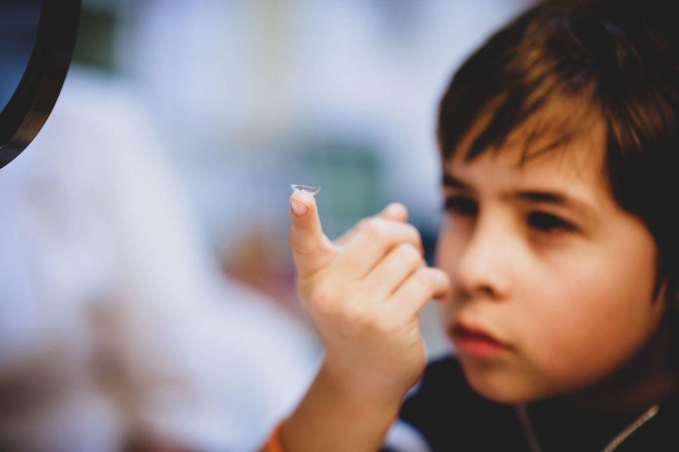 Dětské kontaktní čočky