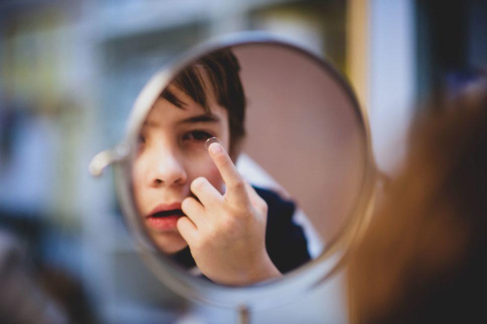 Dětské kontaktní čočky aplikace