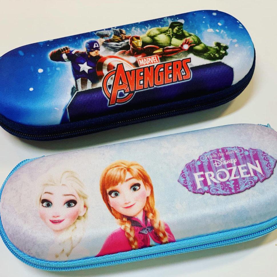 Dětské pouzdro nabrýle Avengers Frozen Ledové království
