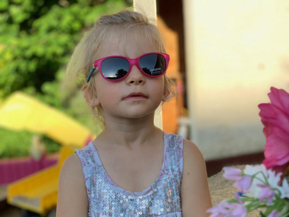 Dětské sluneční brýle růžové