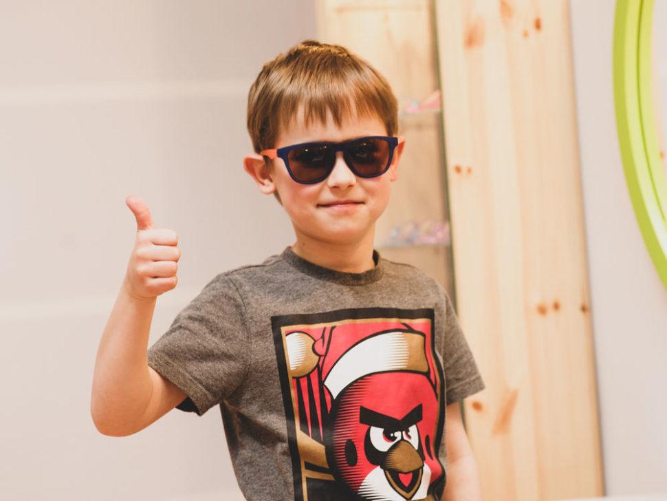 Dětské sluneční brýle chlapecké