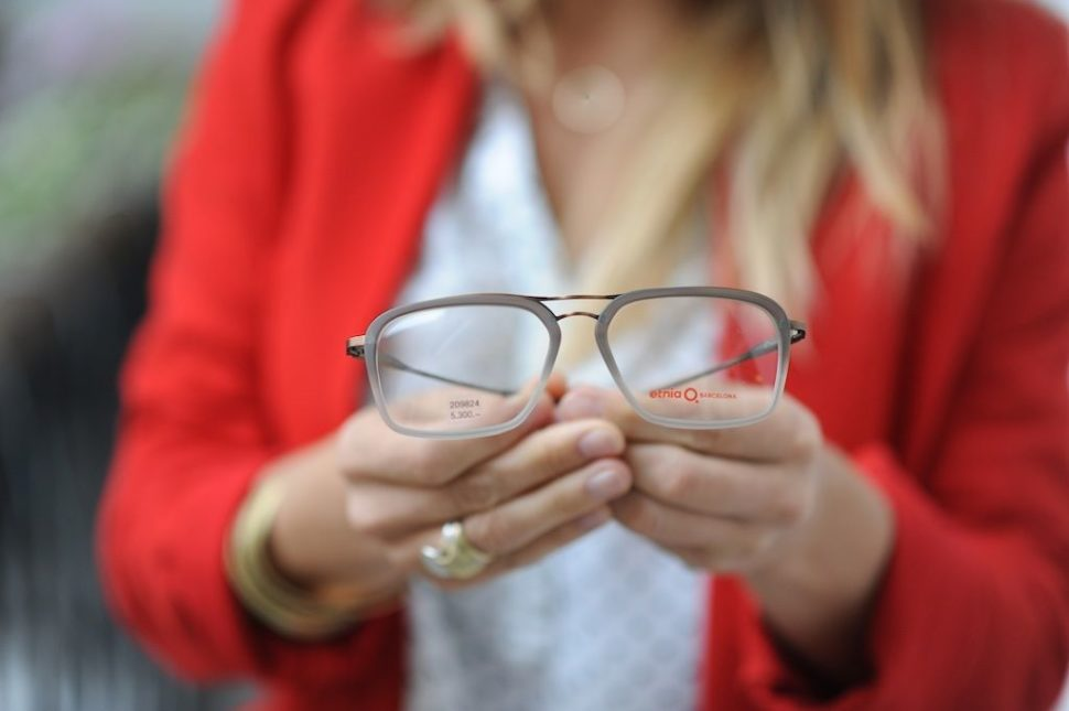 Dioptrické brýle šedé