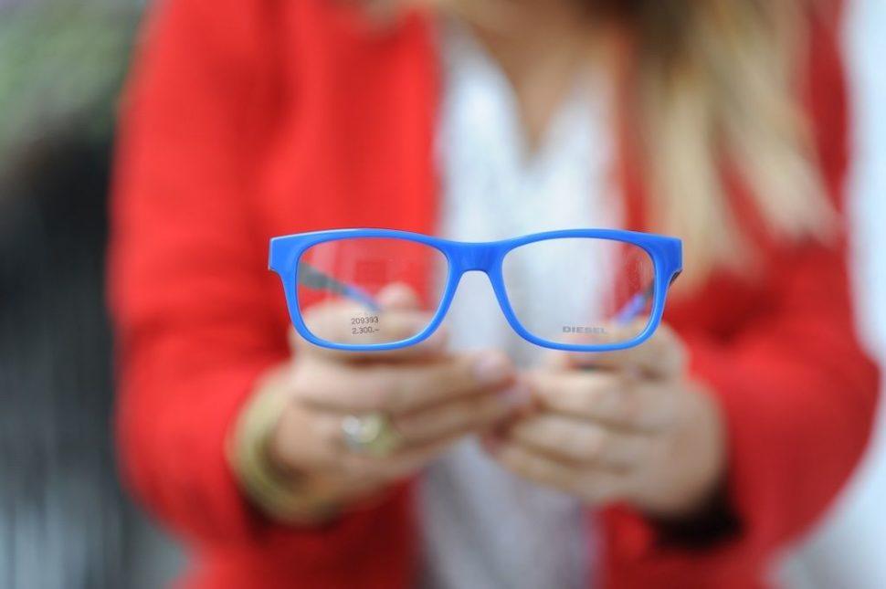 Dioptrické brýle modré Diesel