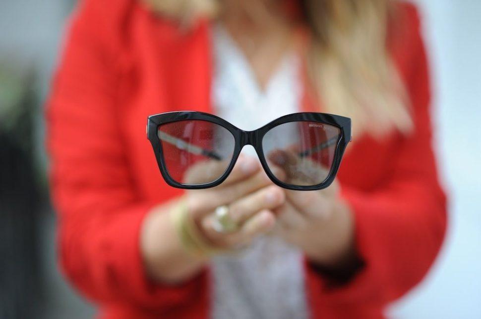 Dioptrické brýle černé