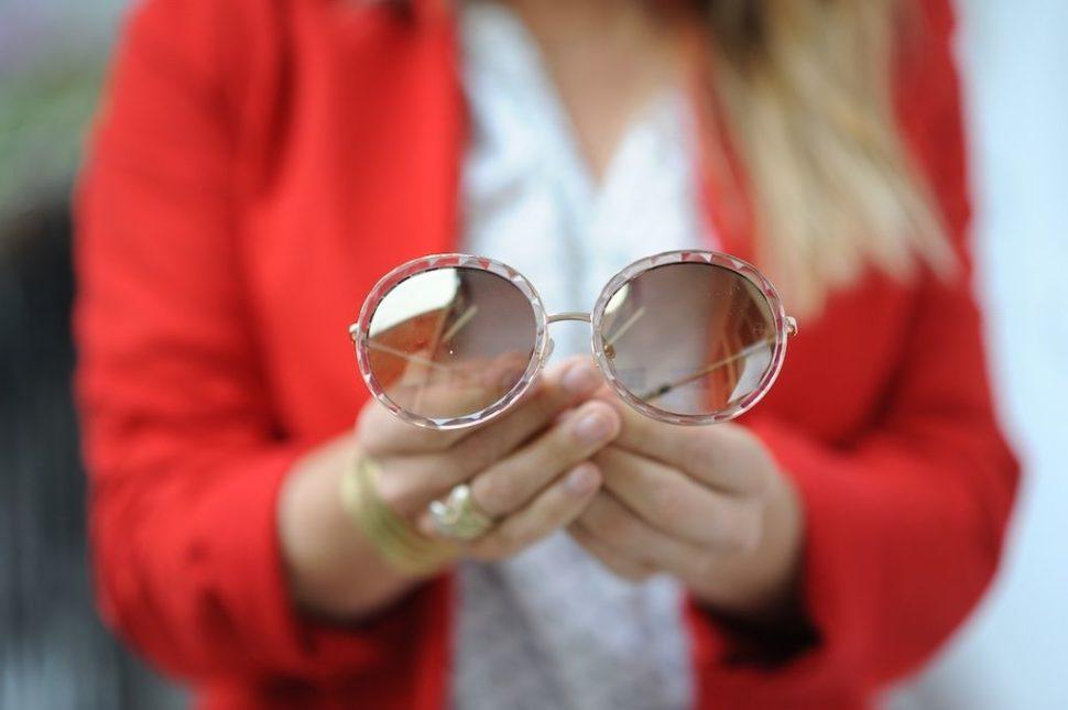 Dioptrické brýle kulaté