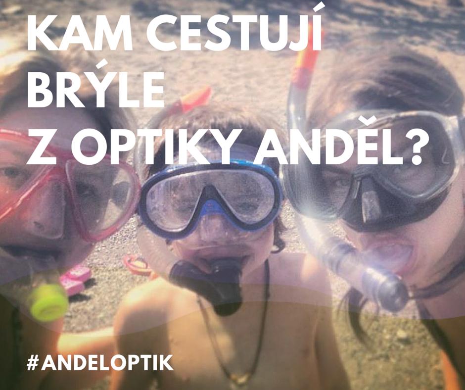děti v dioptrických plaveckých brýlích