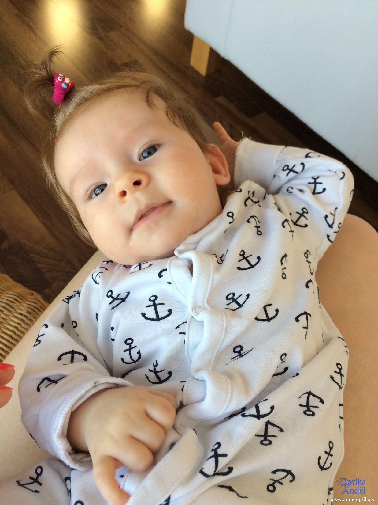malé miminko Kájinka