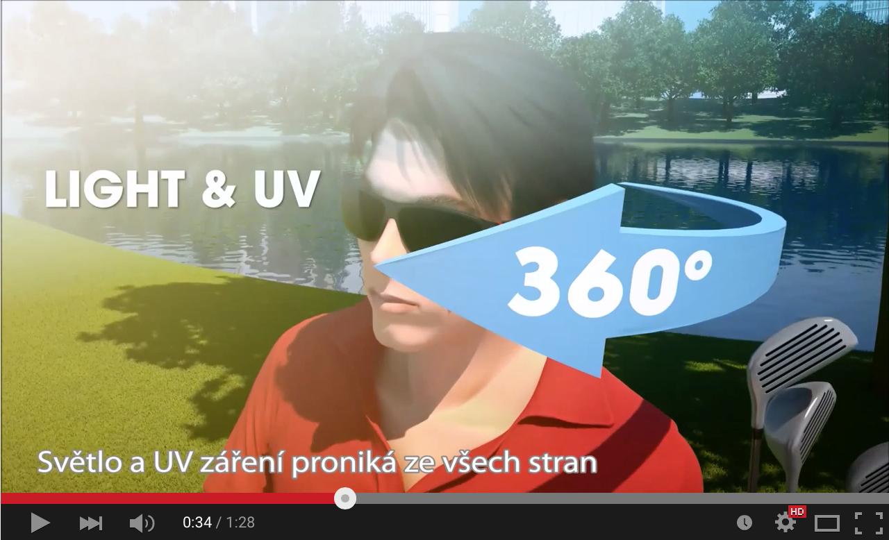 Náhled videa o dioptrických brýlích a UV