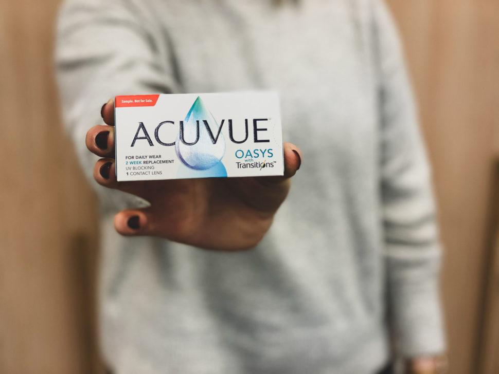 Balení kontaktních čoček Acuvue Oasys with Transitions