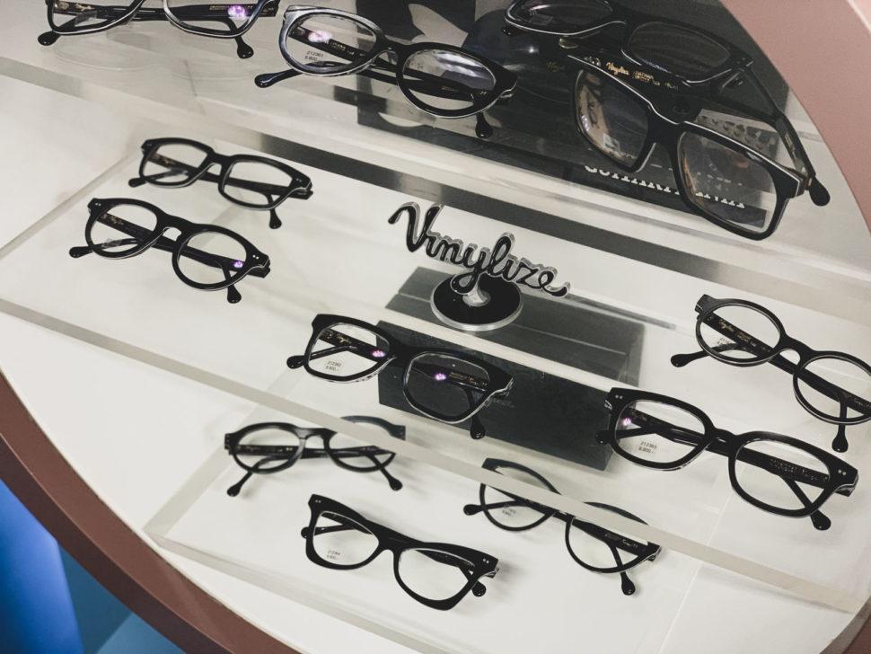 Černé dioptrické brýle Vinylize