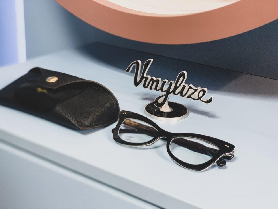 Černé dioptrické brýle ačerné pouzdro
