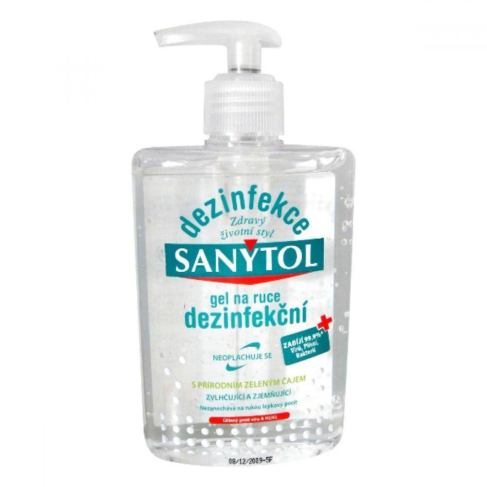 Dezinfekce na ruce Sanytol