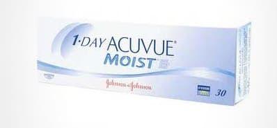 Balení kontaktních čoček 1-day Acuvue Moist od Johnson & Johnson