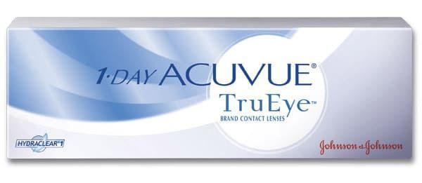 Balení kontaktních čoček 1-day Acuvue TruEye od Johnson & Johnson