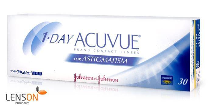 Balení kontaktních čoček 1-day Acuvue for astigmatism od Johnson & Johnson