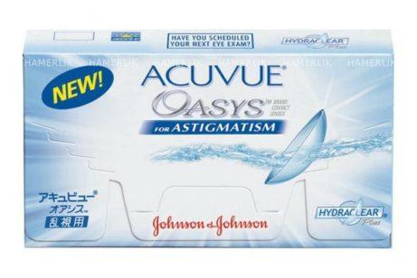 Balení kontaktních čoček Acuvue Oasys for astigmatism od Johnson & Johnson