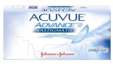 Balení kontaktních čoček Acuvue Advance for astigmatism od Johnson & Johnson