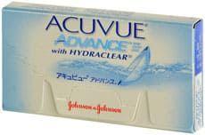 Balení kontaktních čoček Acuvue Advance with Hydraclear for astigmatism od Johnson & Johnson
