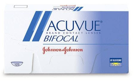 Balení kontaktních čoček Acuvue bifocal od Johnson & Johnson