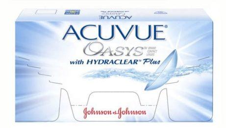 balení kontaktních čoček Acuvue Oasys od Johnson & Johnson