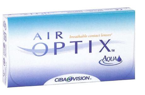 Balení kontaktních čoček Air Optix od Ciba Vision