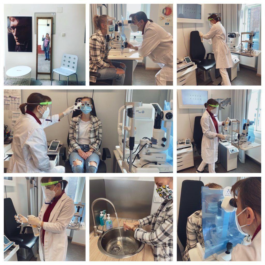 vyšetření zraku optika